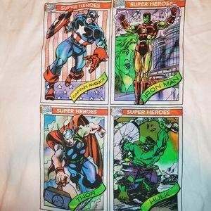 Marvel's Avengers White Graphic Tee shirt, Large